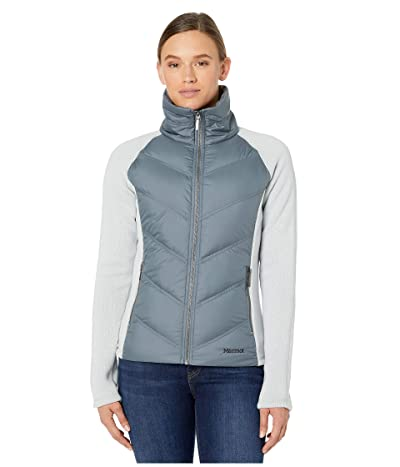 Marmot Ithaca Hybrid Jacket (Bright Steel/Steel Onyx) Women