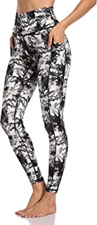 Colorfulkoala Women's High Waisted Yoga Pants 7/8 Length Leggings with Pockets