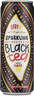 BESTeas Sparkling Unsweetened Tea (Black Tea with Lemon)