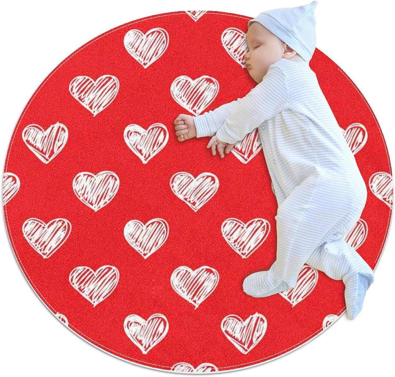 Pink Big Heart Kids Nursery Phoenix Mall Rug To Carpet Round Design Mat Some reservation Play