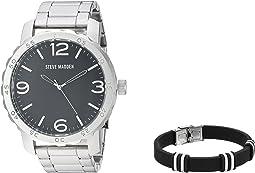 Analog Watch and Bracelet Set SMS590960