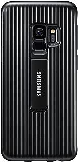 Samsung Galaxy S9 Rugged Military Grade Protective Case with Kickstand, Black - EF-RG960CBEGUS