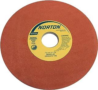 PFERD 61793 Bench Grinding Wheel 3600 Maximum RPM 7 Diameter 1 Thick 1 Arbor Hole PFERD Inc. 1 Thick Silicon Carbide 7 Diameter 1 Arbor Hole 120 Grit