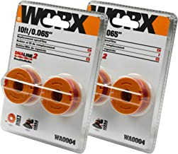 Worx (2 Pack) WA0004 10-Foot Trimmer Spool Line for WG150s