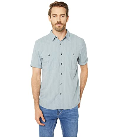 Royal Robbins Vista Dry Short Sleeve Shirt (Light Pelican) Men