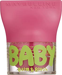 Maybelline New York Baby Barra de Labios Color Flirty Pink - 1 Unidad