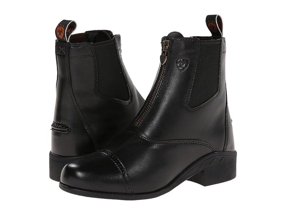 Ariat English Kids Devon III (Little Kid/Big Kid) (Black) Cowboy Boots