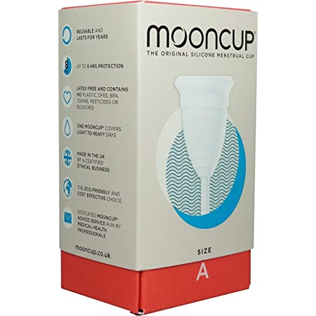 Mooncup Menstrual Cup Size A 1pieces
