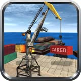 3D de operador de grúa de carga