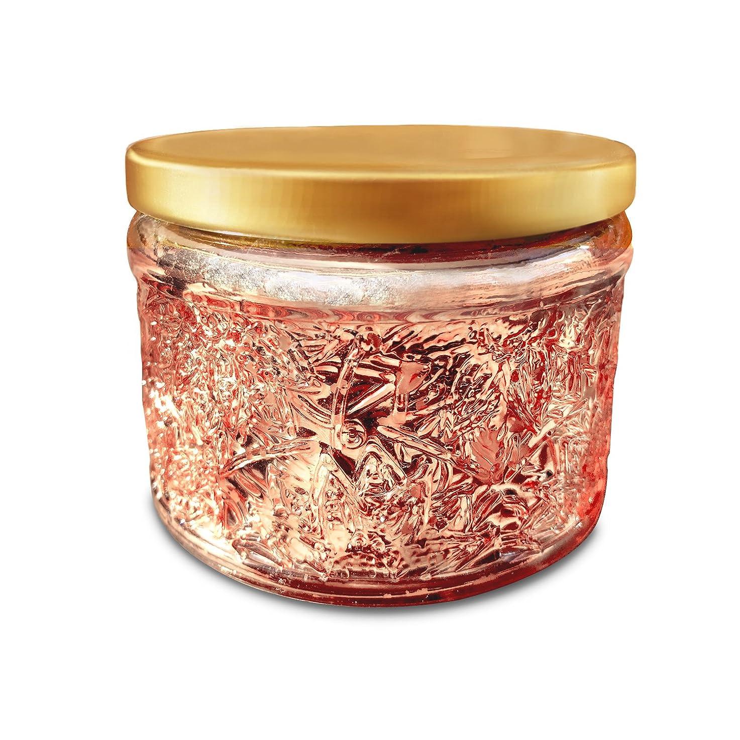 警察セラー感動するFruit Scented Candle,220 g, 25 h Hours burn, Soy and Coconut Wax, Natural Essential Oil