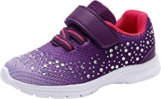 Kids Girl's Fashion Sneakers Casual Sports Shoes