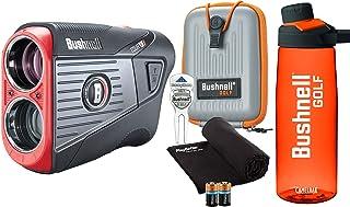 $419 » Bushnell Tour V5 Shift (Slope) Golf Laser Rangefinder Patriot Pack Bundle | +Bushnell Bottle, Carrying Case, Divot Tool, P...