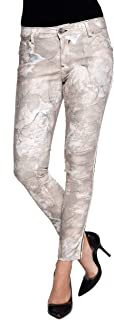 Coccara Non Denim Vintage Slim Fit Bella - Pantalones para mujer