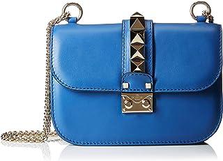 حقيبة الكتف الصغيرة للنساء بورسا من فالينتينو - أزرق داكن