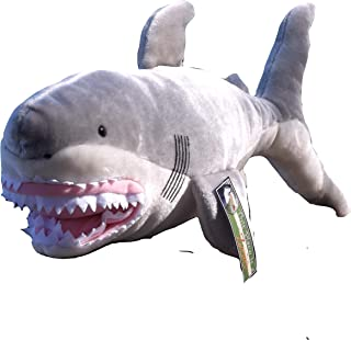 This Place is a Zoo 'Chomp' the 'Man-Eating' Great White Shark Plush Toy - 24