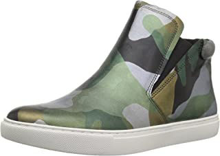 Kenneth Cole New York Women's Kalvin Mid-top Pull on Sneaker Techni-Cole 37.5 Lining