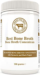 BONE BROTH CONCENTRATE Premium Beef Bone Broth Concentrate Turmeric - 100% Sourced From AU Grass-Fed, Pasture-Raised Cattle