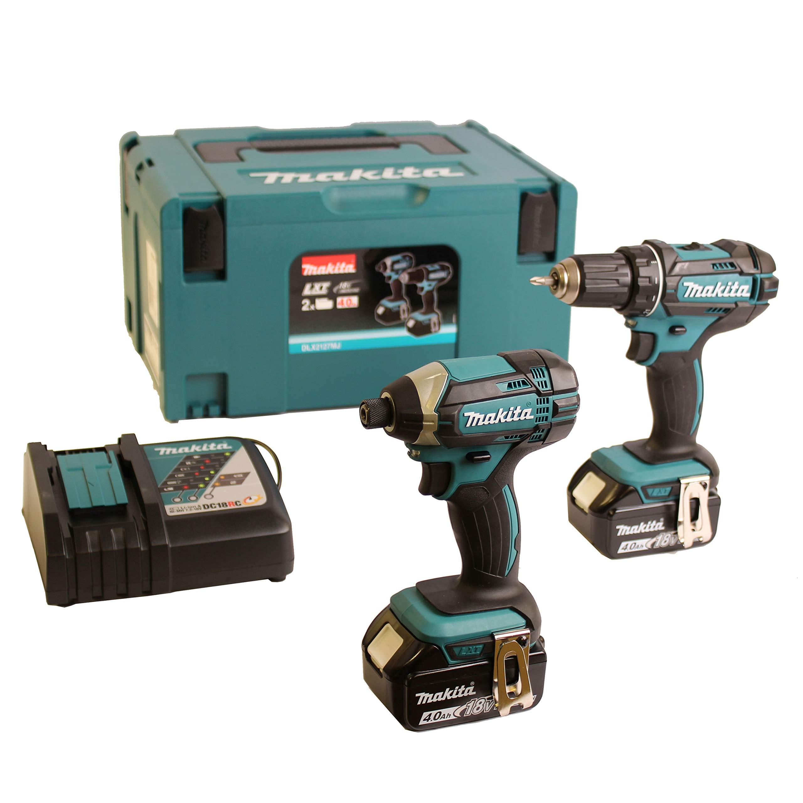 Pack de 2 máquinas taladro atornillador + destornillador de ...