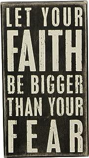 Best faith over fear sign Reviews