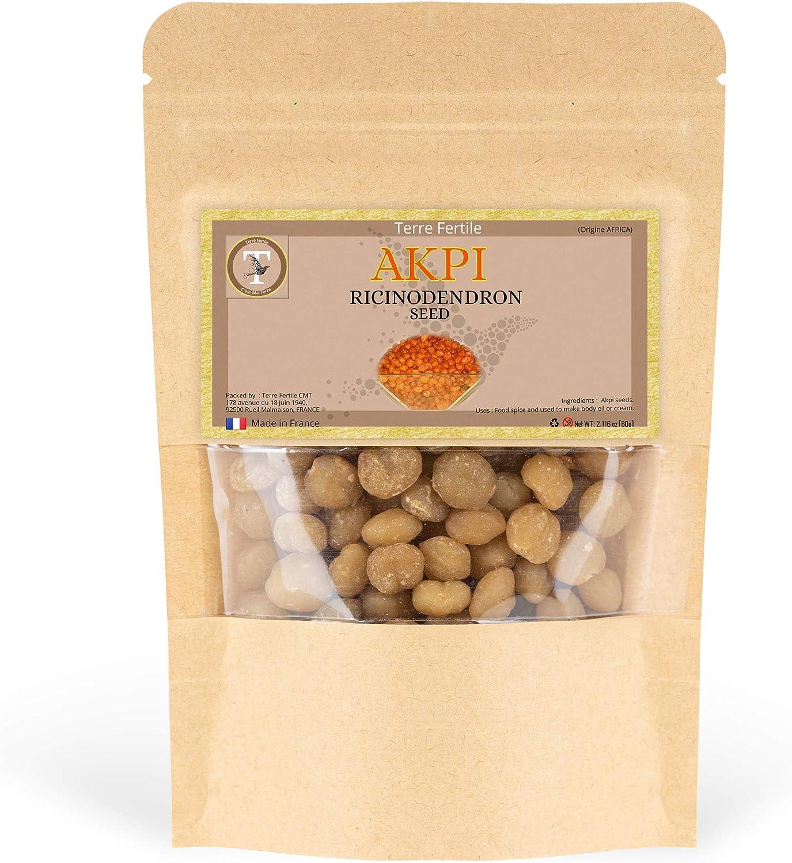 TERRE FERTILE™ – Semillas de AKPI – Djansang / Jansang – Producto 100% Orgánico y Natural – para Masaje (Busto / Glúteos / Piernas)