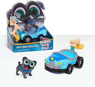 (Puppy Dog Pals Puppy Power Vehicles Bingo) - Puppy Dog Pals Bingo with Power Vehicle, Multicolor