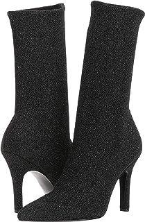 Marc Fisher LTD Womens Unita, Black Fabric, Size 6.5