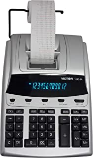 Victor 1240-3A 12 Digit Heavy Duty Commercial Printing Calculator