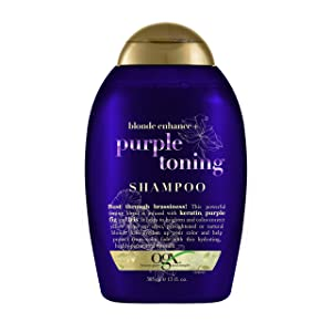 Ogx Blonde Enhance + Purple Toning Shampoo