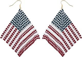 Best american flag earrings Reviews