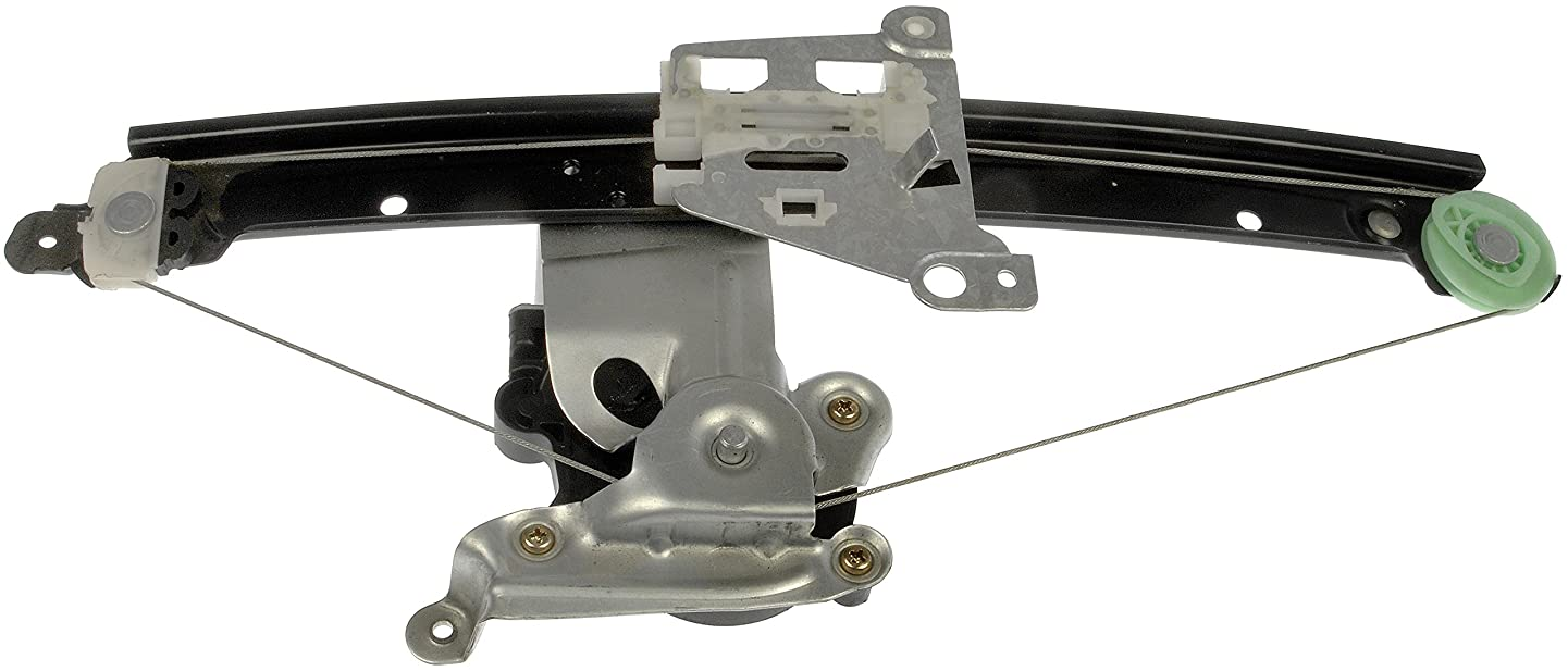 Dorman 741-058 Rear Driver Side Replacement Power Window Regulator with Motor for Volvo S60