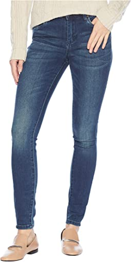 The Bond Body Denim Mid-Rise Skinny in Avatar