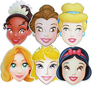 Disney Princess - MULTIPACK - Card Face Masks