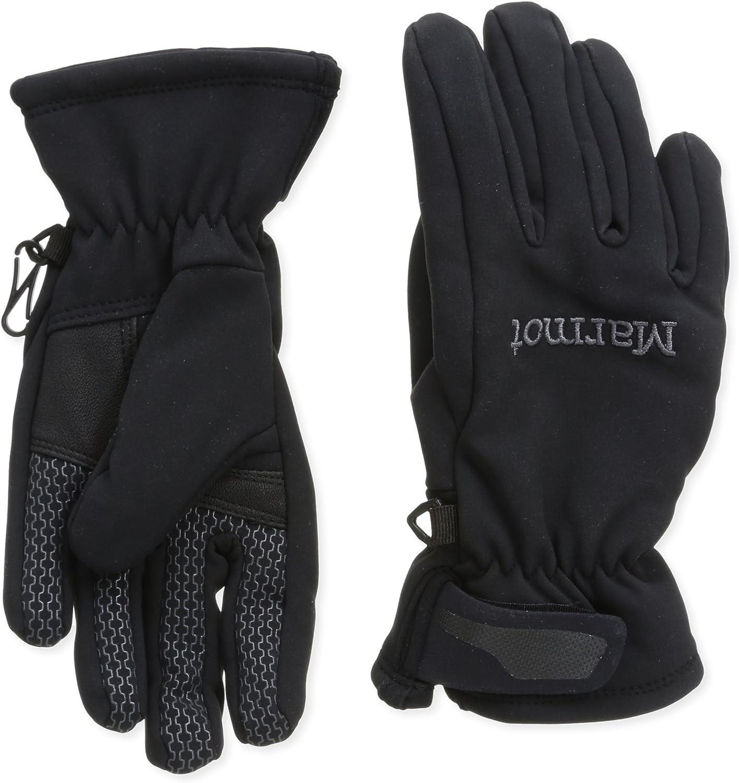 Marmot Glide Softshell Glove - Women's Black Large