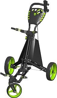 چرخش این محصولات گلف آسان درایو گلف پاش سبد خرید، سیاه و سفید / سبز