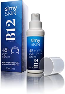 SimySkin - Eye Serum with B12 for Ages 45 up - 1 Ounce