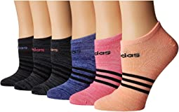 Superlite No Show Socks 6-Pack
