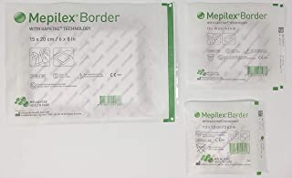 Mepilex Border Wound Dressing Bundle Pack (Contains 1 Each of: 3