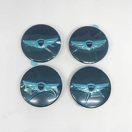 """2009 - 2015 Hyundai Genesis Sedan 17"""" 19"""" 4door OEM Rims R-spec """"Wing"""" Wheel Center Caps Covers Emblem"""