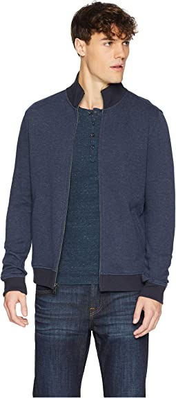 Knit Texture Track Jacket