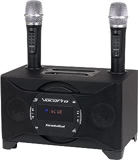 2 VocoPro TabletOke-II Digital Karaoke Mixer with Wireless Mics Bluetooth Receiver, WHF-158 Foam Windscreen and AA LR6 Alkaline Battery 4-Pack