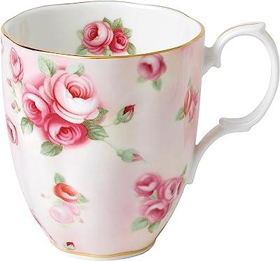 Royal Albert 100 Years 1890 Mug, Rose Blush