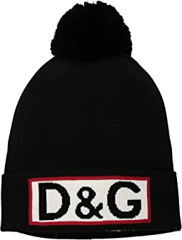 Dolce & Gabbana Kids - Pom Pom Cap (Little Kids/Big Kids)
