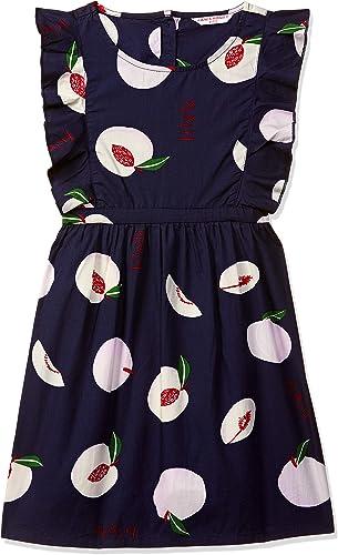 Cotton Girls Dresses Jumpsuits Dress