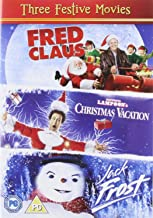 Three Festive Movies - Fred Claus 2007 National Lampoons Christmas Vacation 1989 Jack Frost 1998 2011
