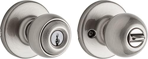 lowest Kwikset 94002-407 Polo Keyed 2021 Entry Knob wholesale in Satin Nickel outlet sale