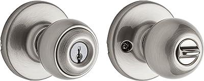 Satin Nickel Philadelphia Hardware Schlage F170AND619 Andover Single Dummy Door Knob
