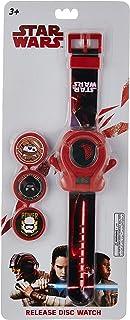 ساعة يد ستار وورز للاولاد بها مسدس اقراص ومينا رقمي من لوكاس - SA7117 ستار وورز