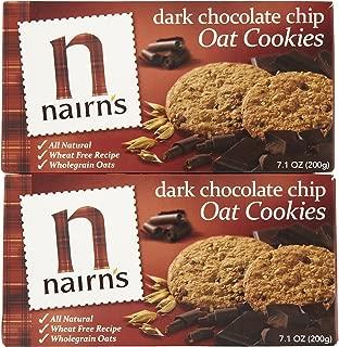 Nairn's Oat Cookies w/ Dark Chocolate Chips, 7.1 oz, 2 pk