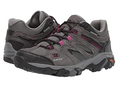Hi-Tec Ravus Vent Low WP (Charcoal/Cool Grey/Amarath) Women