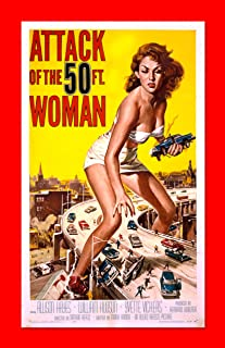 Retro Sci-Fi Journal, Attack of the 50 Foot Woman by Monkey up a Tree